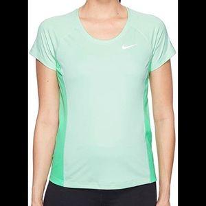 Nike Medium Mint Green Athletic T-Shirt